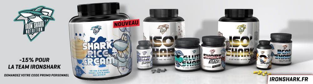 iron shark nutrition